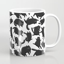 Black Cats pattern Coffee Mug
