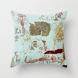 Isabel nostalgic Throw Pillow