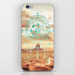 Mandala Desert Dawn iPhone Skin