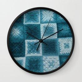 Teal real Wall Clock