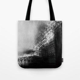 city in monochrome Tote Bag