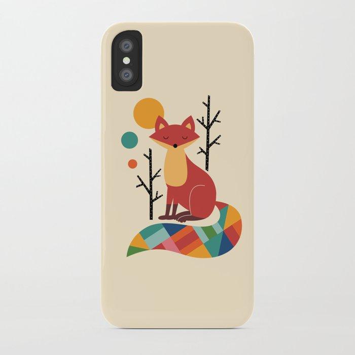 Rainbow Fox iPhone Case