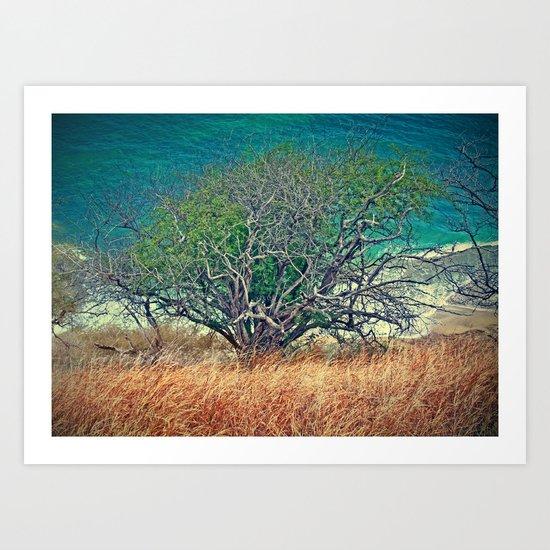 Reach for the Sea Art Print