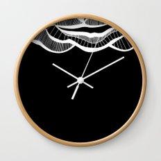 Positive negativism Wall Clock