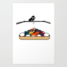 Pool Playa Art Print