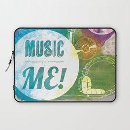 Music is me! Laptop Sleeve