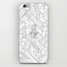 The Lego Movie —Colouring Book Version iPhone & iPod Skin