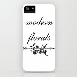 modern florals 2 . Home Decor Graphicdesign iPhone Case