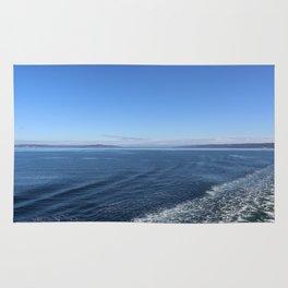 Edmonds-Kingston Ferry, WA Rug