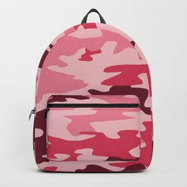 Camouflage Print Pattern - Pinks & Purples Backpack