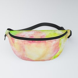 Colorful, fresh and beauty rose Fanny Pack