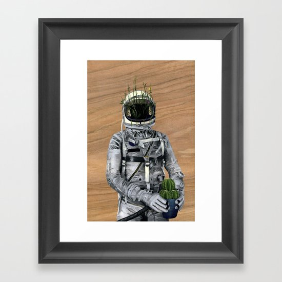 Cacti | Spaceman No:1 Framed Art Print