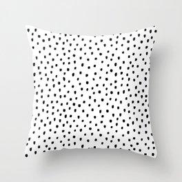 Classic Dot - Dotty Scandinavian Style Throw Pillow