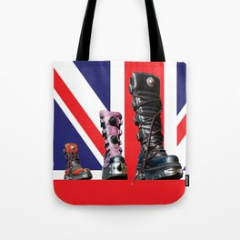 Boots Tote Bag