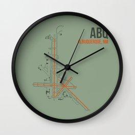 ABQ Wall Clock