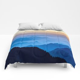 Mountains 11 Comforters