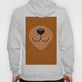 Teddy Bear Nose and Mouth Hoody