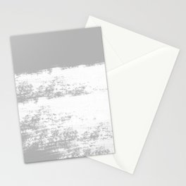 VICTIMIZED - GRAY Stationery Cards