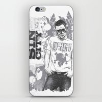 sin city iPhone & iPod Skins featuring Sin city by Tshirt-Factory