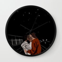 Casey and Izzie Wall Clock