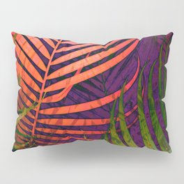 COLORFUL TROPICAL LEAVES no5 Pillow Sham