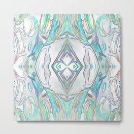 132 - Glass design invert Metal Print
