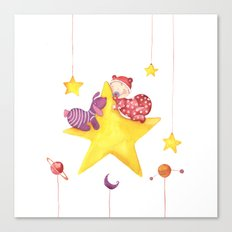 Baby star Canvas Print