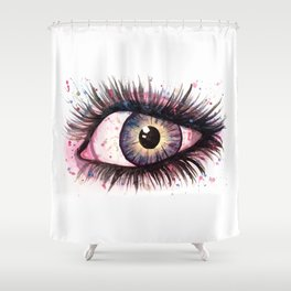 cosmic eye 2 Shower Curtain