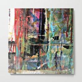 Colorful Bohemian Abstract 2 Metal Print
