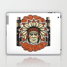Cloud Chaser - Vaping Native American Laptop & iPad Skin