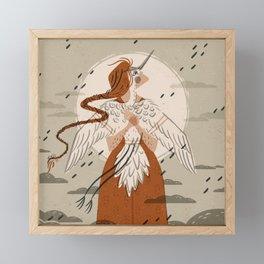 Crane Spirit | Alex Gold Studios Framed Mini Art Print