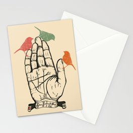 Fortune favours the bold Stationery Cards