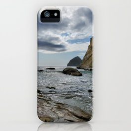 Incoming Storm On The Ocean iPhone Case