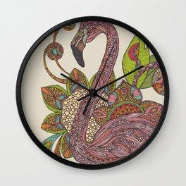 Royal falmingo Wall Clock