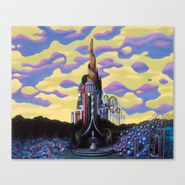 Our Monument To Each Pressing Memory Canvas Print