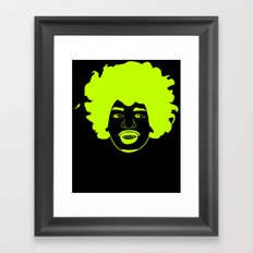 I __ Music Framed Art Print