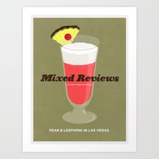 Mixed Reviews - Fear and Loathing in Las Vegas Art Print