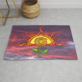 Tudor's Sunrise Rug