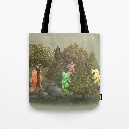 Wild Gummy Bears Tote Bag