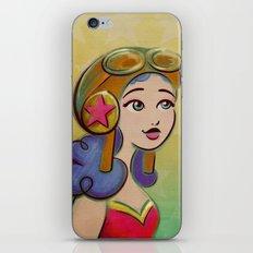 Fly Girl iPhone & iPod Skin