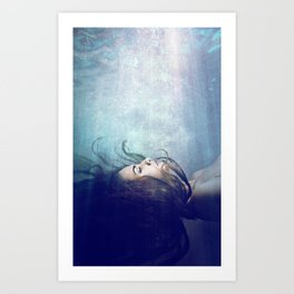 Sirène Art Print