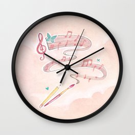 Artistic Melodies Wall Clock