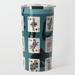 Persian Playing Cards Travel Mug