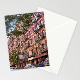 Lower eastside new york Stationery Cards