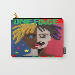 """ONE RACE... """"HUMAN"""". Carry-All Pouch"""