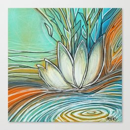 Relaxation Pond Canvas Print