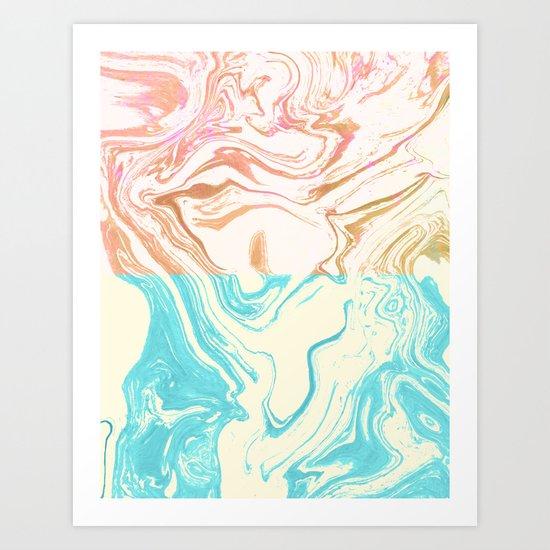 Paint Duality #society6 #decor #buyart Art Print