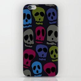 Skulls-3 iPhone Skin