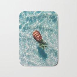Ah, Summer: Pineapple Bath Mat