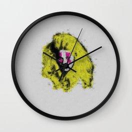 Claudia Schiffer - top model - pop icon Wall Clock